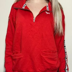 Red PINK pullover